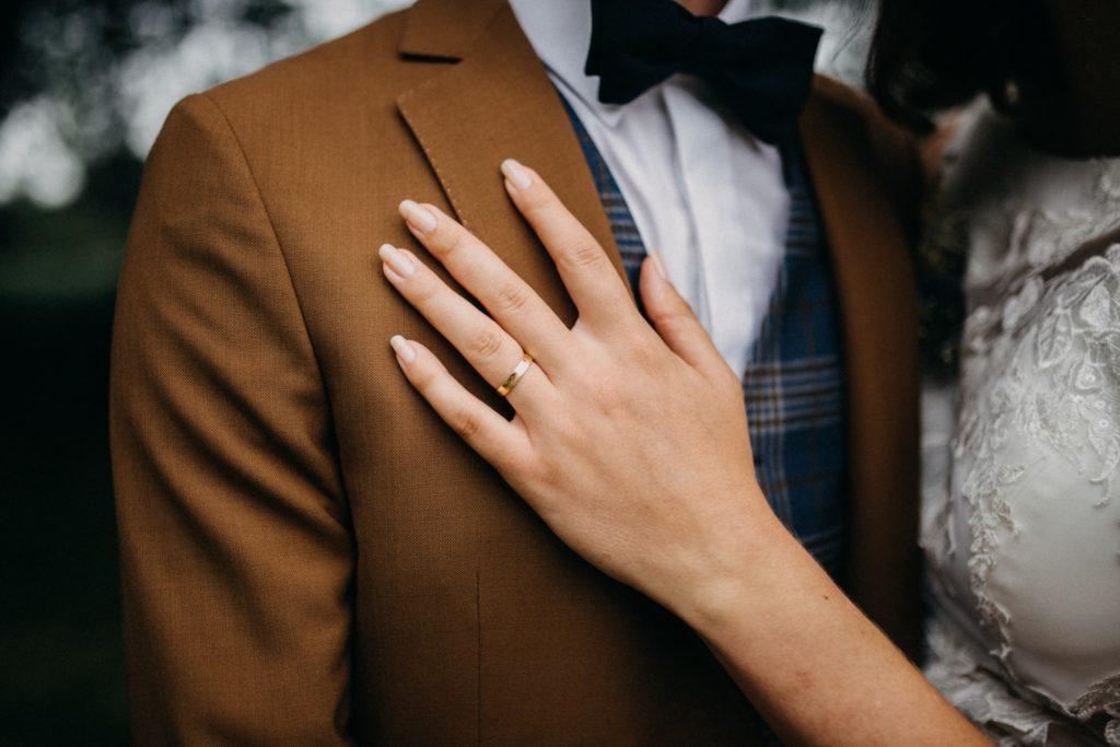 Détail mariage alliance